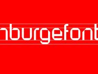 Custom typeface WIP