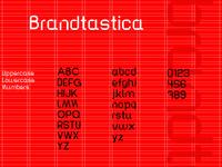 Brandtastica typeface soon released