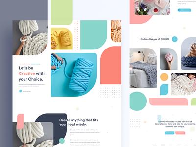 Leading page desing ux illustration ui design
