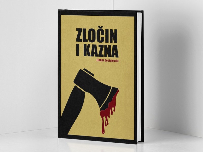 Book Cover (Crime and Punishment - Fyodor Dostoevsky) cover artwork cover design cover art design graphic designer graphic design book covers book cover design book cover art book cover