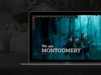 Montgomery - Web design for photography studio