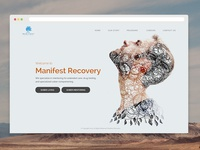 Web design for recovery center