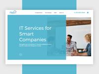 Web design for FlexIT