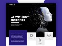 Webdesign for AI firm