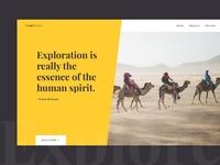 Web design exploration