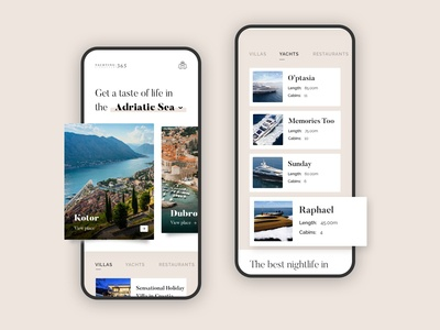 Mobile Experience for Luxury Travel