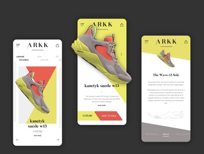 Arkk Copenhagen Shopping App Concept