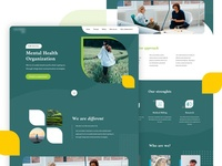 Homepage for Mental Health Institution