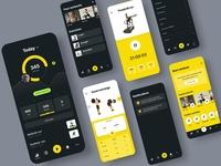 Mobile UI for Gym App