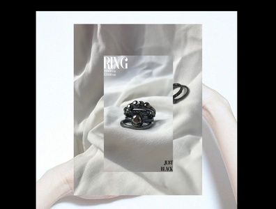 """""""RING"""" poster ring photoshop accessories poster brand design branding design photography fashion new product poster accessories accessory"""