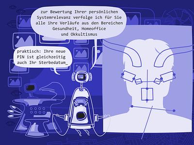 top_Monica29 Systemrelevanz illustration vector comic cartoon