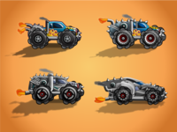 Trucks  (All 4 Types)