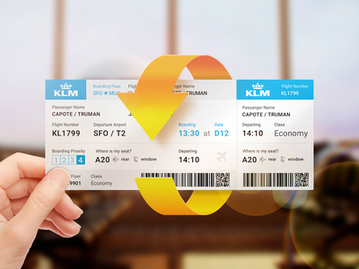 Ticket teaser illustration arrow ticket airline
