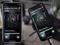 iOS Mobile Swipe Interaction