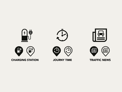 Monocle Icons illustration icons infographics