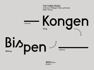 Berg Font