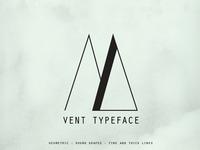 Vent Typeface