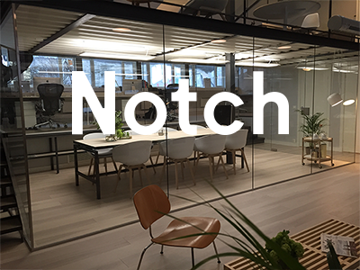 Notch Office workspace office profile logo