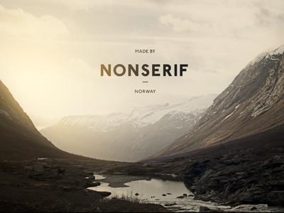 Nonserif - Word mark