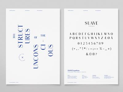 Suave font typography profile