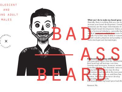BadAss Beard illustration