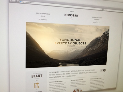 Nonserif Web