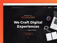 Web Academy - Agency Landing Page