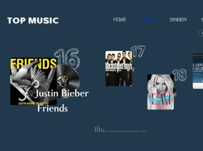 WEB music design