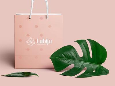 Lubiju Brand Identity flower personal brand branding logo identy branding design brand