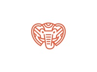 Saffron Elephant