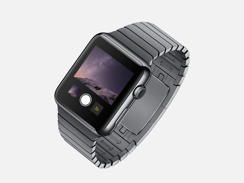 Apple Watch PSD Hi-res apple watch freebie psd smart object