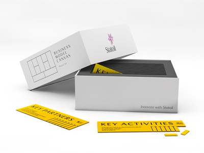 Statoil - box set statoil box 3d cinema rendering