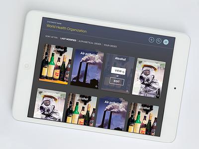 iPad app ios web native app photoshop