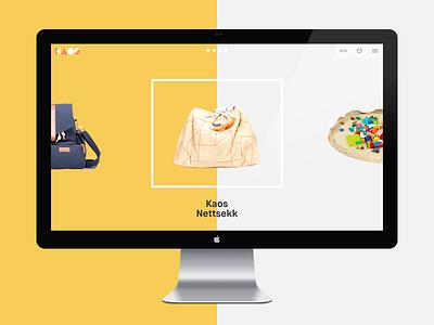 Shopify theme kaos typography ecommerce shopify theme