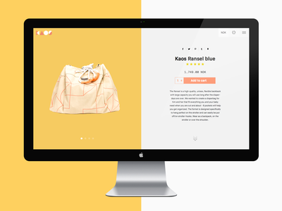 Kaos Shopify Product Page minimal sketch design product ecommerce shopify