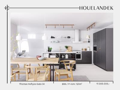 HouelandEk – private broking minimalist luxury colors typography