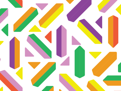 Pattern design identity brand tiling pattern colors