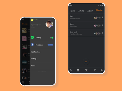 Simple Music Player with Neumorphism (Mockup #1) mobile nantapix music player design music player ui music app design music app ui neumorphism musixmatch music app music