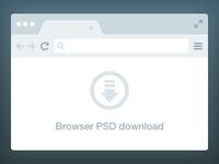 Browser Freebie PSD