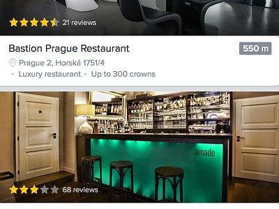 Restaurants feed ios iphone 6 green restaurants feed clean