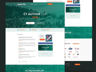 CT Author Cup new website mountain bike author green orange clean proxima nova white