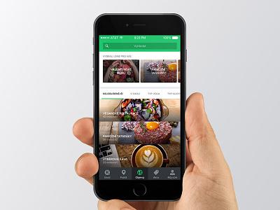 Discover clean iphone white green discover restu