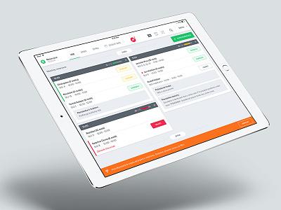 ERB update ipad tablet clean white green restu erb