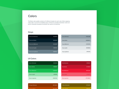 Restu color palette update pallete design system colors