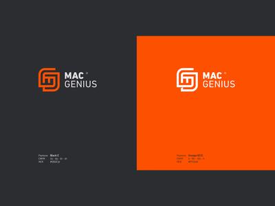 Mac Genius logo