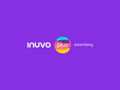 Inuvo Plus Adv - Logo motion graphics 3d animation typography stationery identity ux app logo uiux vector ui design graphic design branding logo
