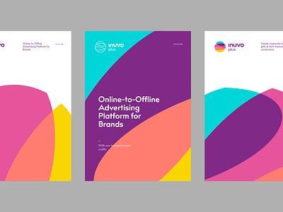 Inuvo Plus - Visual Identity branding logo graphic design ui