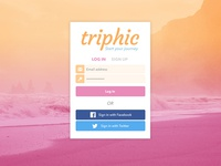 Triphic Signup