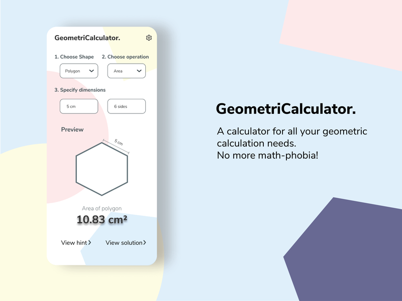 Calculator Concept Design calculator pastels dailyui 004 dailyui uikit simple mobile ui ui design minimal