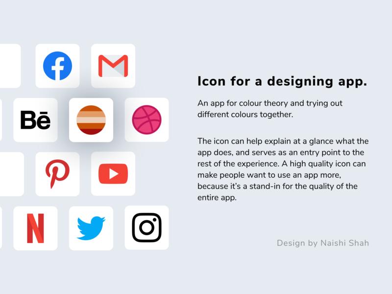 App icon concept design mobile app dailyui 005 app icon icon minimal dailyui